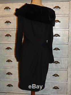 +++ Very Beautiful Black Dress Vintage Thierry Mugler T F 40 I 44 In Very Good Condition