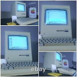 Very Rare 1er Apple Macintosh 128k M0001 With Signatures In Very Good State
