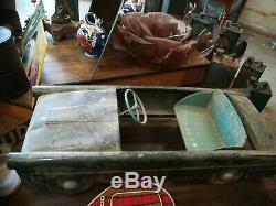Very Rare! A Pedal Car Simca Ariane. Good Condition To Renovate