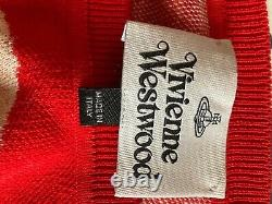 Vivienne Westwood Jacquard Sweater Very Good Condition Size L