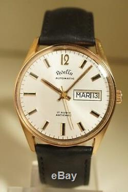 Watch Automatic Avelta, Day And Date, Very Good Condition, Works Perfectly