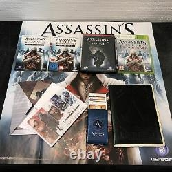Xbox 360 Assassin's Creed Brotherhood Ediiton Collector Fra Very Good Condition