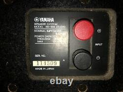 Yamaha Ns-10m Studio Monitor Pair In Very Good State (matched Pairs)