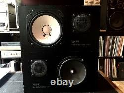 Yamaha Ns-10m Studio Monitor Pair In Very Good State (matched Peers)