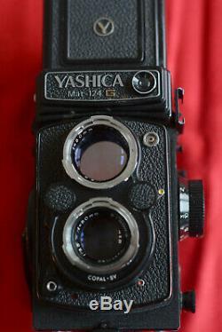 Yashica Mat-124g Medium 6x6 Twin Lens Reflex 80 MM F / 3.5 Very Good