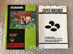 Zombies / Snes / Full Tres Bon French Version Fah