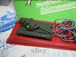 AJ763 SOLIDO 1/50 CHAR PATTON M-47 TELECOMMANDE Ref 210 TRES BON ETAT