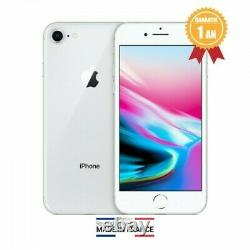 APPLE IPHONE 8 64GB NOIR ROUGE OR ARGENT RECONDITIONNE Pas cher