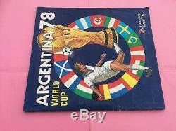 Album Panini Football Argentina 78 1978 En Tres Bon Etat & Complet