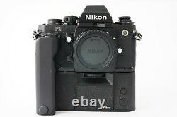 Appareil photo Nikon F3 + MF-14 Data Back + MD-4 +. Bon à Très Bon Etat