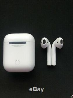 Apple AirPods Écouteurs Intra-auriculaires sans Fil (MMEF2ZM/A) Trés bon état
