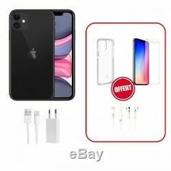 Apple iPhone 11 Noir Gris sidéral Débloqué 64go 128 ou 256 go