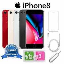 Apple iPhone 8 64Go GSM Usine DÉBLOQUÉ iOS Téléphones Mobiles 4G Gris sidéral Or