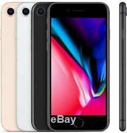 Apple iPhone 8 64Go GSM Usine DÉBLOQUÉ iOS Téléphones Mobiles Gris sidéral Or
