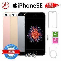 Apple iPhone SE 64Go GSM DÉBLOQUÉ iOS Téléphones Mobiles Gris Or rose Argent