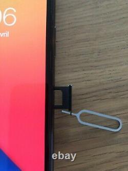 Apple iPhone X 256Go Gris Sidéral (Désimlocké) Très bon état FACE ID HS
