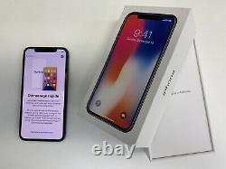 Apple iPhone X 256Go Gris Sidéral Désimlocké très bon état
