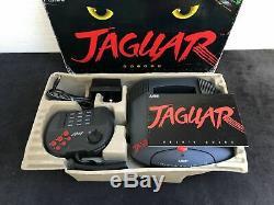 Atari Console Jaguar PAL Très Bon état