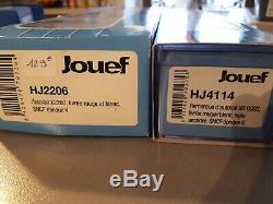Autorail JOUEF HO HJ2206 + remorque HJ4115 en très bon état