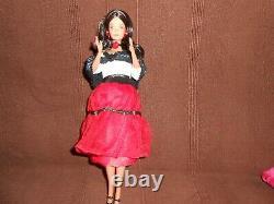 Barbie superstar hispanic rio, stéffie, whitney, (trés bon état, taiwan)