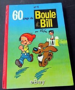Boule Et Bill Roba No 1 60 Gags De Bb Dupuis Eo 1962 Tres Bon Etat