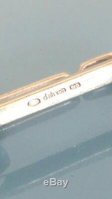 Bracelet Dinh Van en argent maillons taille XL très bon état