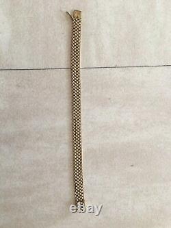 Bracelet Or 18 Carats Tres Bon Etat 18,10 Grs