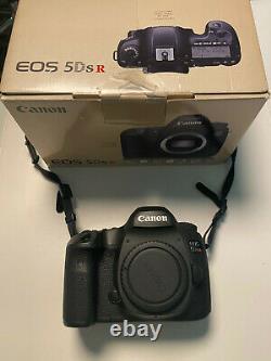 CANON 5DSR 50,6 MP 4307 déclenchements Très bon état / peu utilisé