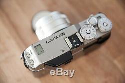 Caméra Contax G1 + Carl Zeiss Planar 45mm F/2 Très Bon Etat