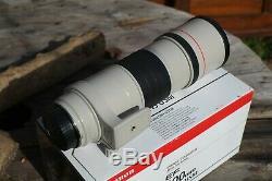 Canon EF 300mm 14.0 L IS USM noir blanc (Très bon état)