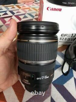 Canon EF-S 17-55 mm f/2,8 IS USM + pare soleil Très bon état