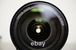 Canon EOS 5DsR + 24-105 F4 Is II USM + Flash + Accessories Très bon état
