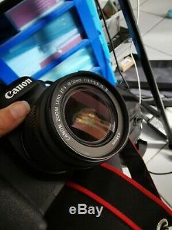 Canon EOS 7d avec objectif 18-55 très bon état
