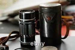 Canon LTM 135mm 3.5 M39 tres bon etat