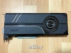 Carte graphique Asus GTX 1060 Turbo 6GB très bon état SANS boite