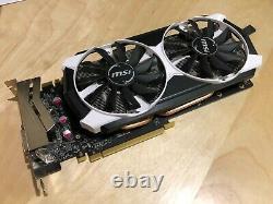 Carte graphique MSI Nvidia GTX 970 OC 4 Go DDR5, Très bon état, très peu servi