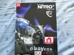 Carte graphique SAPPHIRE RX 580 Nitro+ 4 Go en très bon état