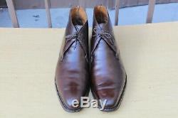 Chaussure Boots Crockett&jones Tetbury Cuir 9 E 43 Tres Bon Etat Men's Shoes