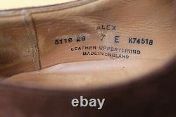 Chaussure Crockett&jones Alex Daim 7 E 41 Tres Bon Etat Men's Shoes