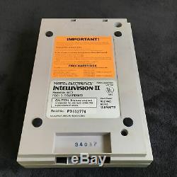 Console Intellivision II 2 PAL Très Bon état