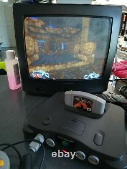Console Nintendo 64 pack fourreau noir (eur) PAL très bon état test ok