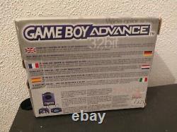 Console Nintendo Game boy advance Noire EN BOITE tres bon etat