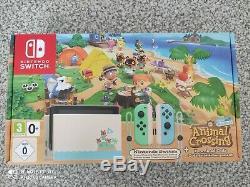 Console Nintendo SWITCH Pack Animal Crossing édition limitée très bon état