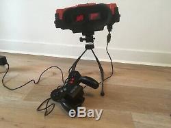 Console Nintendo Virtual Boy en très bon état + Battery pack + 3 jeux