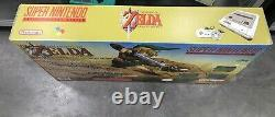 Console Super Nintendo SNES Pack zelda / pack custom / tres bon etat