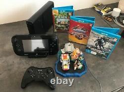 Console Wii U Mario Kart 8 & Splatoon + 3 jeux TRES BON ETAT