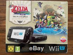Console Wii U Zelda édition limitée The Windwaker HD Complète Très bon état
