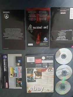 Console gamecube resident evil 4 FRA tres bon etat test ok envoi suivi
