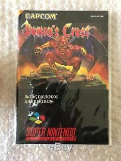 Demons Crest / Super Nintendo / Complet Tres Bon Etat Version Française FAH