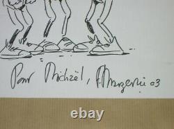 Dessin Original / Lucien Signé Margerin / Rare / Tres Bon Etat